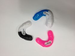 Image showing different colour options for gum guards